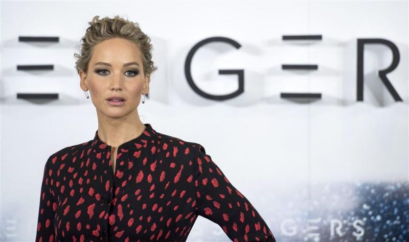 Bijna dode door achterwerk Jennifer Lawrence
