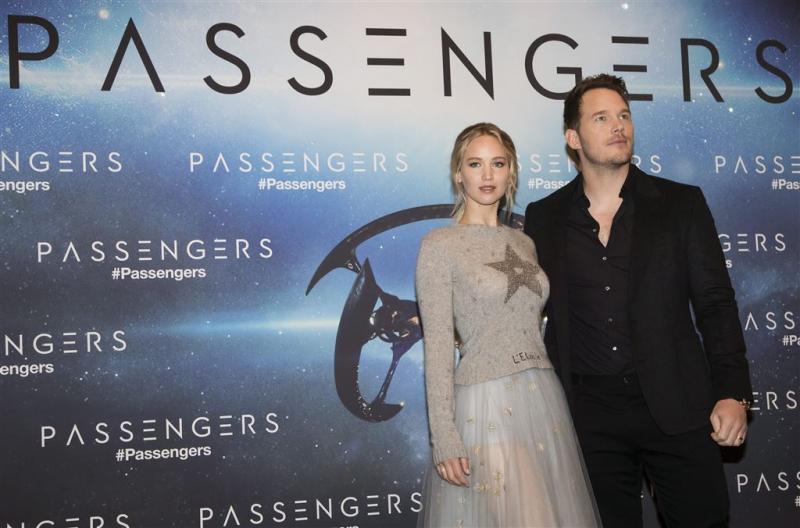 Chris Pratt snijdt Jennifer Lawrence uit foto