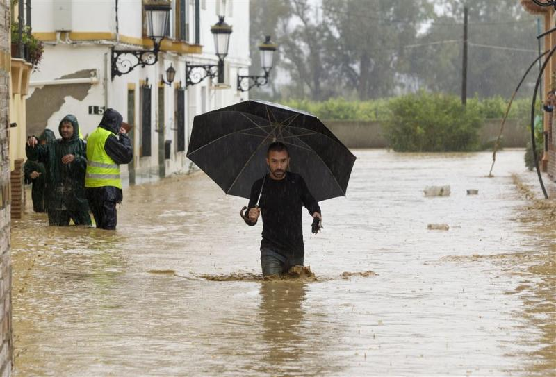 Dode en wateroverlast in Málaga en omgeving