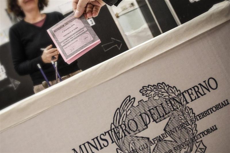 Referendum Italië: opkomst relatief hoog