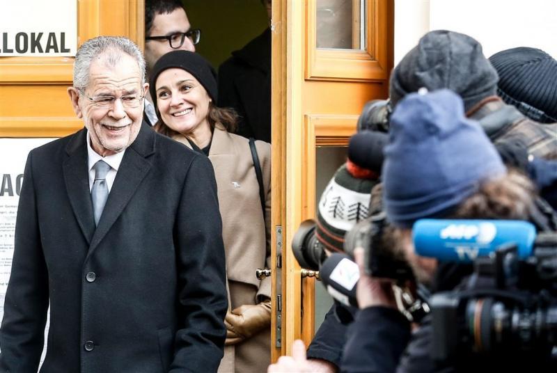 Linkse kandidaat Oostenrijk verslaat populist