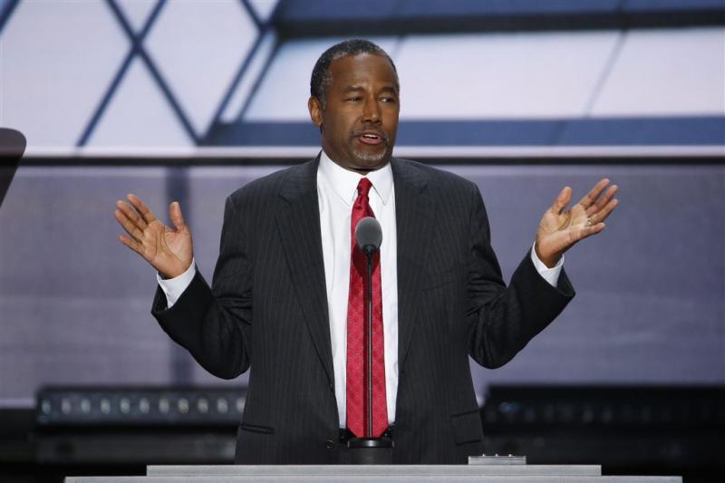 Trump wil oud-rivaal Carson als minister