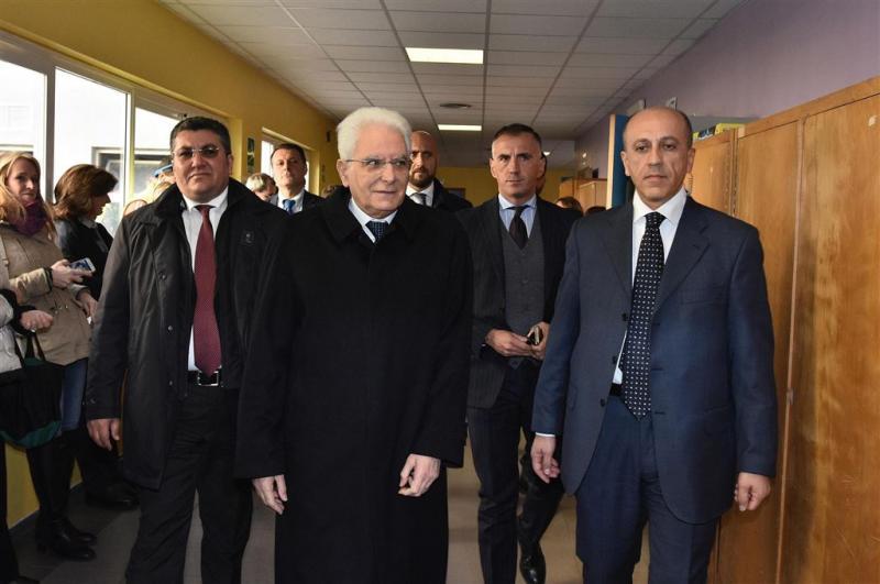 Italiaanse president voor moeilijke klus