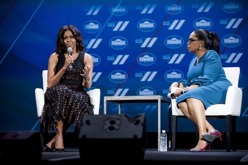 Afscheid Michelle Obama met special Oprah