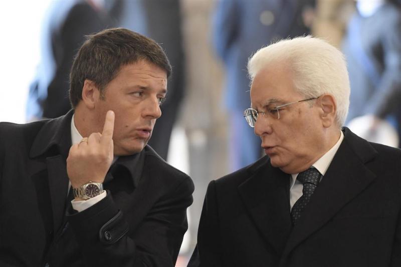 President Italië wil eerst nieuwe kieswet