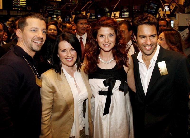 Cast Will & Grace in voor reünie