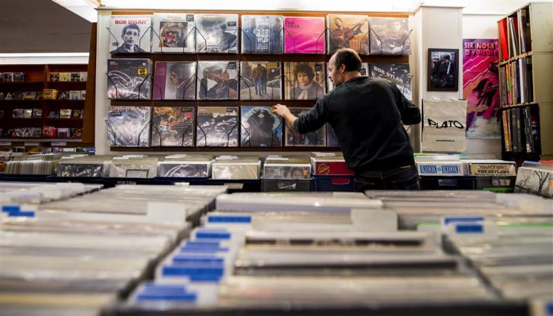 Meer vinyl dan downloads