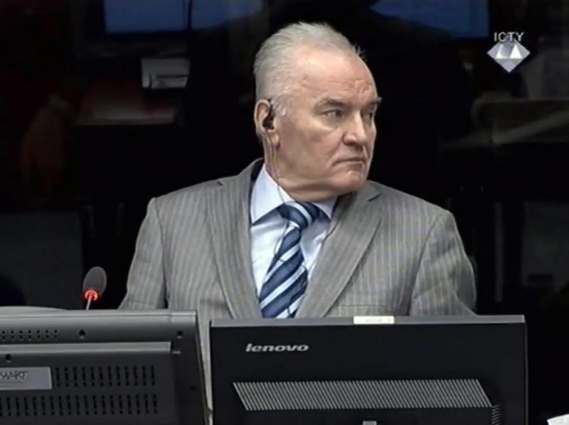 Levenslang geëist tegen Mladic voor genocide