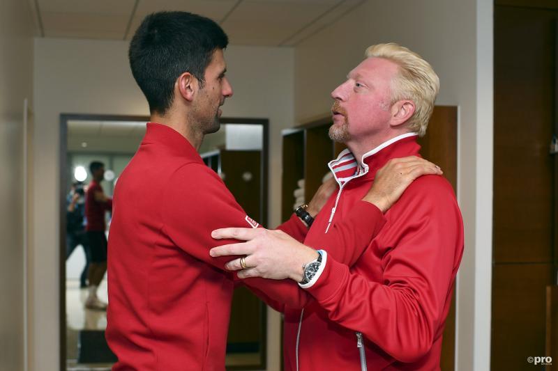 """Becker: """"Djokovic werkte niet hard genoeg"""" (Pro Shots / Action Images)"""