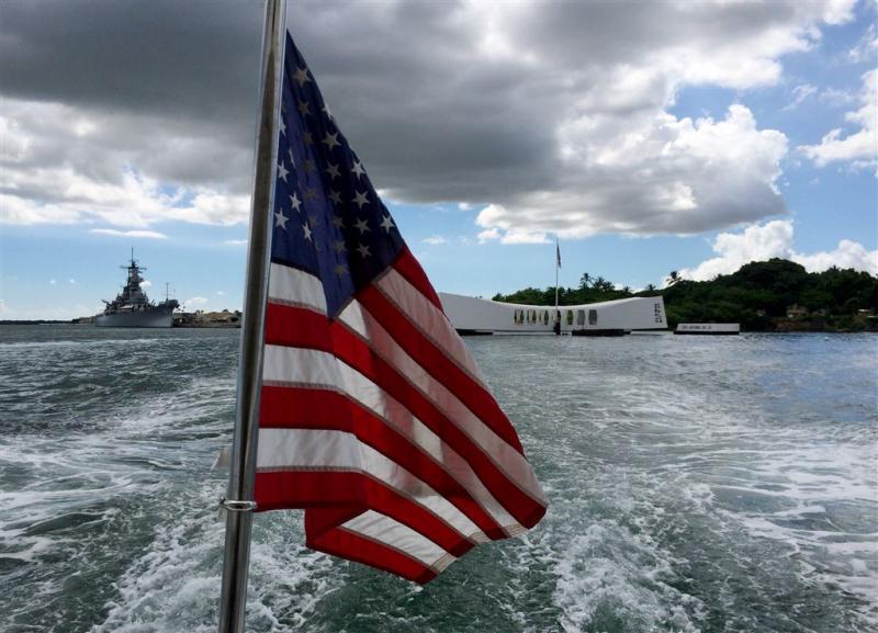 VS herdenken aanval Pearl Harbor na 75 jaar