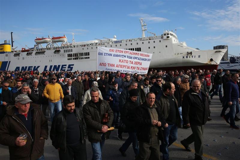 Bezuinigingsmoe Griekenland staakt