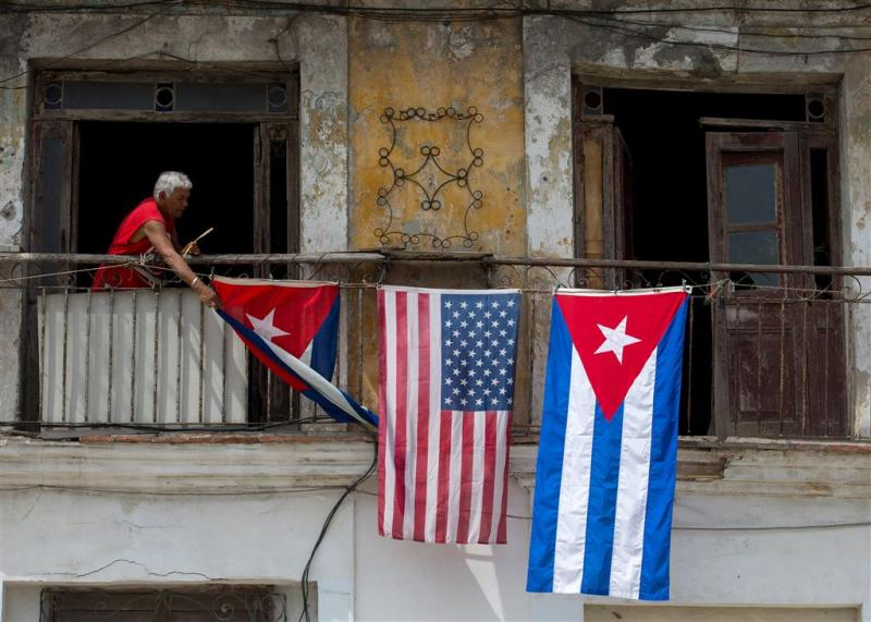 Cuba nog snel om de tafel met VS van Obama