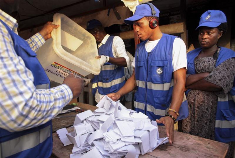 Ghanese oppositie roept om verkiezingsuitslag