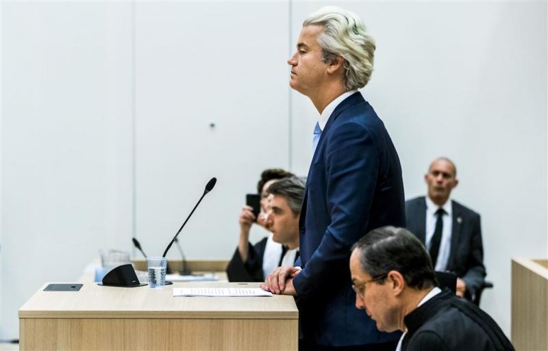 Rechtbank doet uitspraak in Wilders-proces
