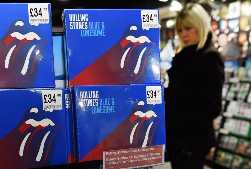 Nieuwe bluesalbum Rolling Stones al platina