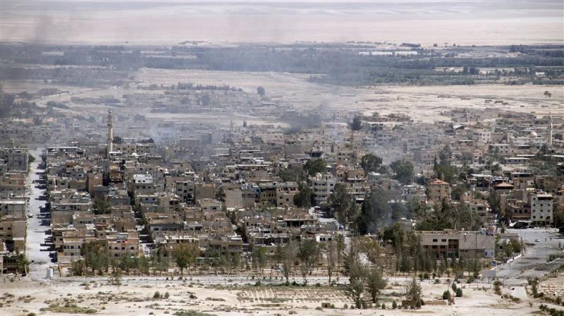 Palmyra nu weer in handen IS