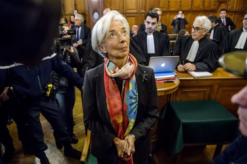 Lagarde geschokt door 'verzonnen complot'