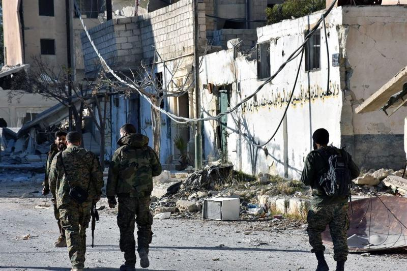 'Slag om Aleppo praktisch voorbij'