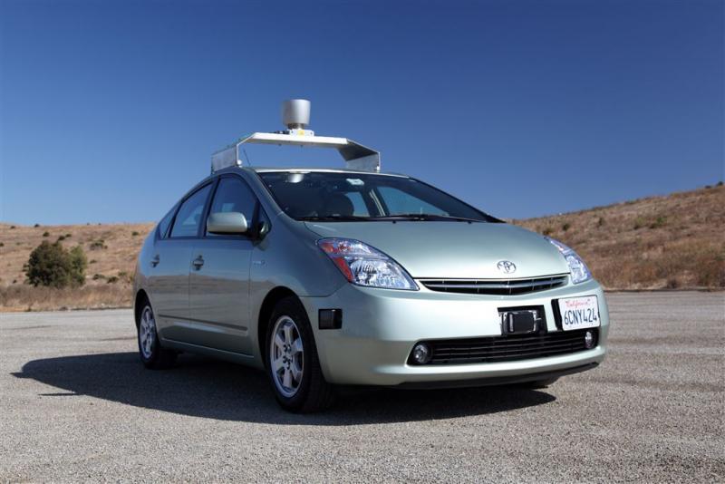 Zelfrijdende auto wordt apart deel van Google
