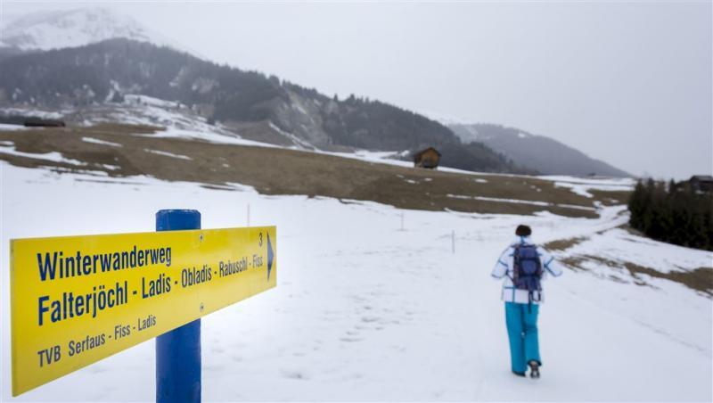 1 miljoen Nederlanders op skivakantie