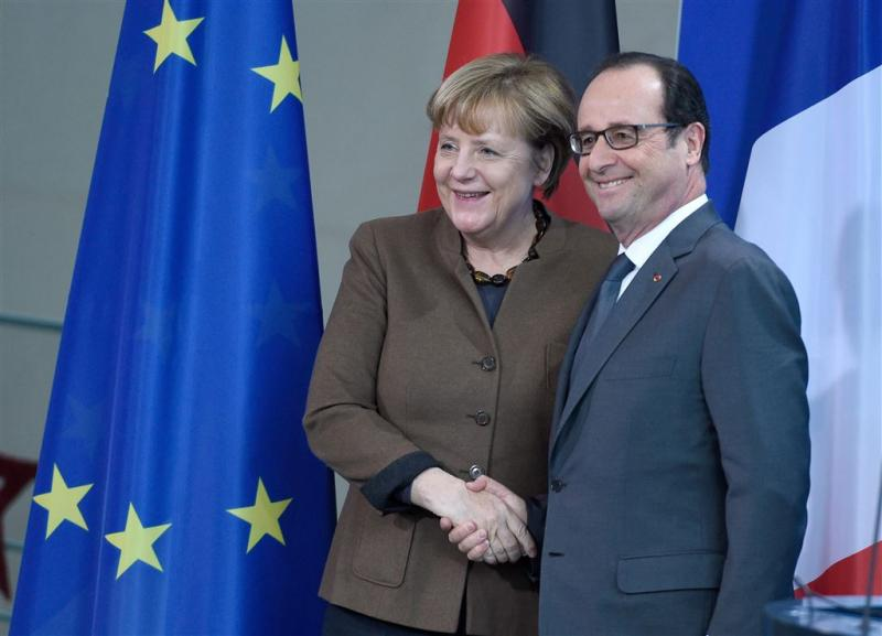 Merkel, Hollande: sancties Rusland verlengen