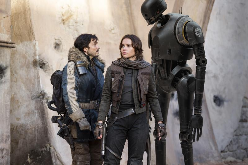 Rogue One: Diego Luna en Felicity Jones