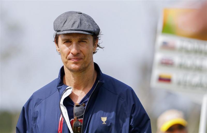 Matthew McConaughey ooit opgepakt om wiet