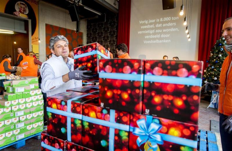 Voedselbank maakt overuren voor kerst
