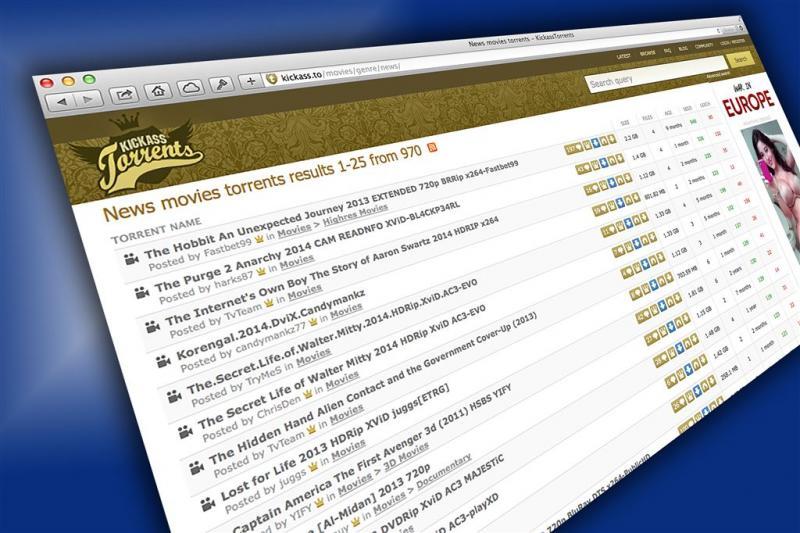 KickassTorrents weer online