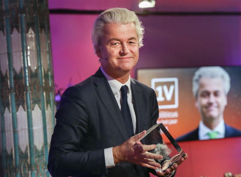 Geert Wilders weer politicus van het jaar