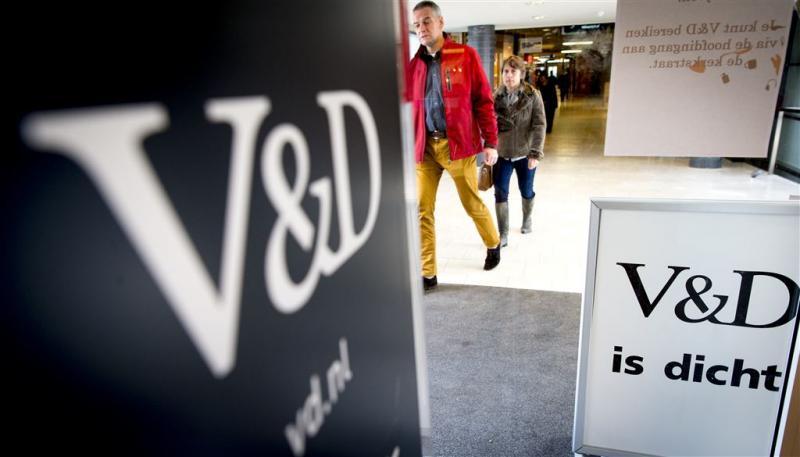Meeste oud-werknemers V&D weer aan het werk