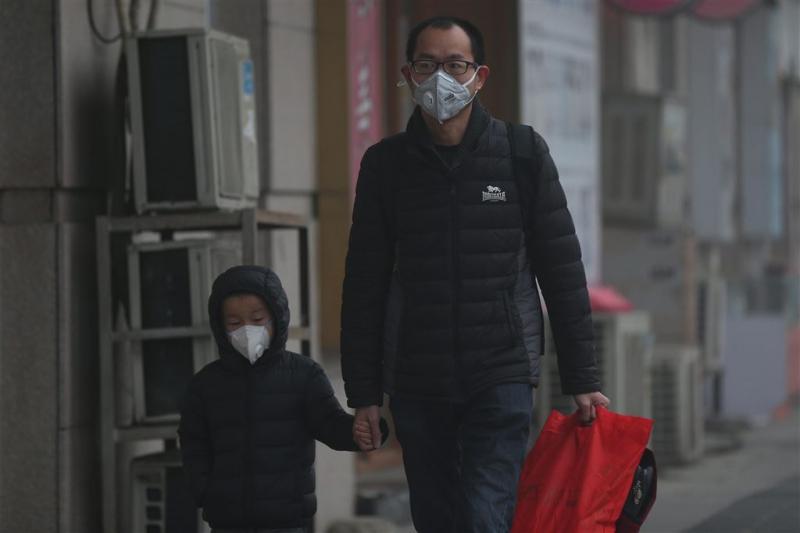 Code rood op vierde dag met smog in China