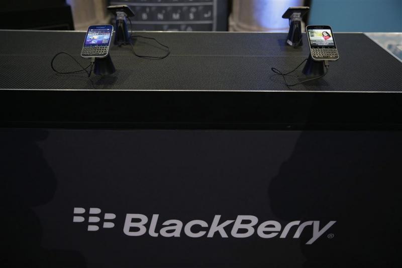 BlackBerry ziet verlies oplopen