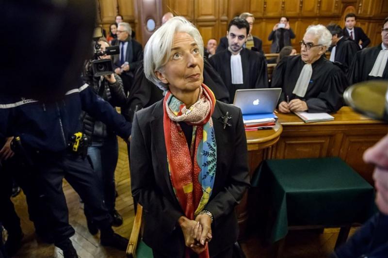 Lagarde blijft steun houden van IMF