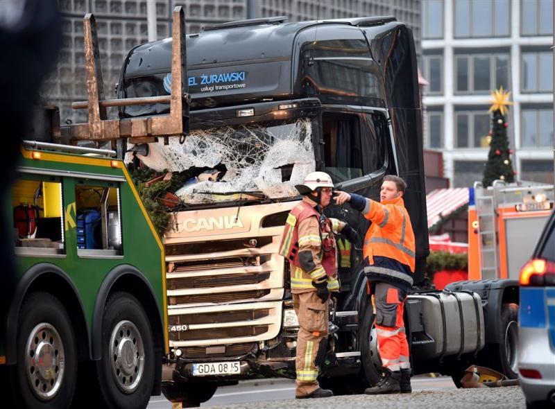 'Truck aanslag mogelijk in namiddag gekaapt'