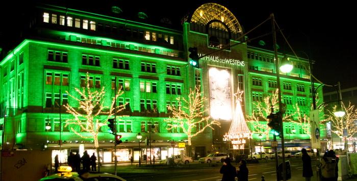 Kaufhaus des Westens in Berlijn in december 2008 (Foto: qltel)