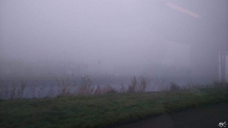 Mist bij DJMO in Alkmaar (Foto: DJMO)
