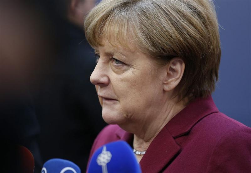 Angela Merkel in rouw na 'aanslag' in Berlijn