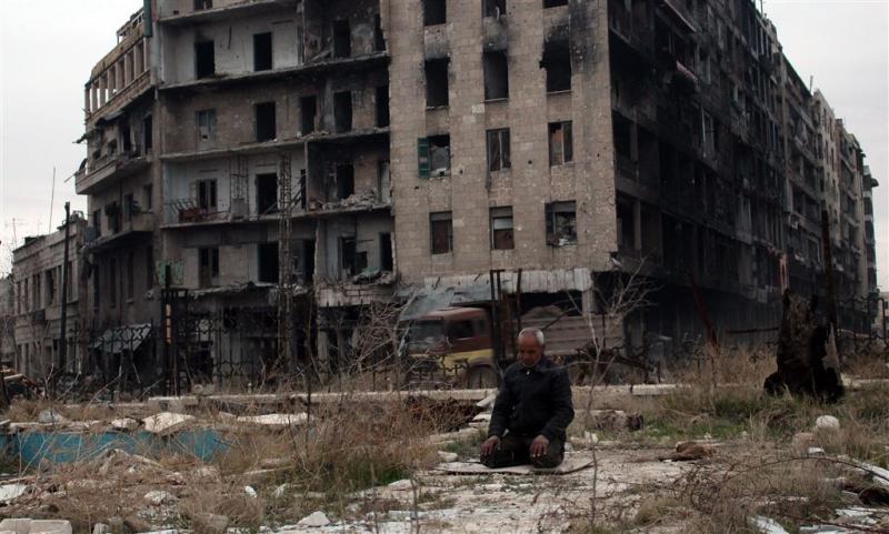 'Leger Syrië gaat rebellengebied Aleppo in'