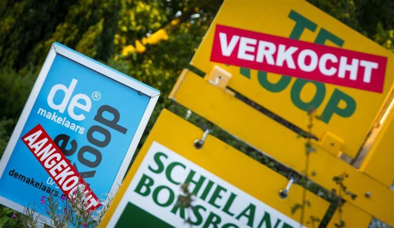 Huizenprijzen opnieuw flink in de lift