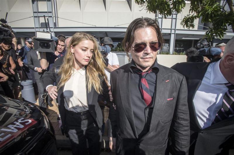 Johnny Depp eist ton van Amber Heard