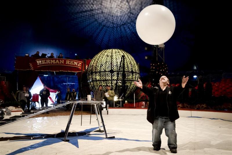 Clown Milko blij met vernieuwing circus Renz