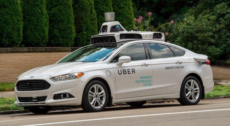 Uber stopt met zelfrijdende auto's SF