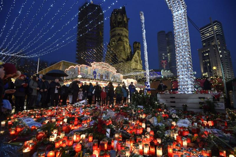 Aanslag Berlijn op beelden autocamera