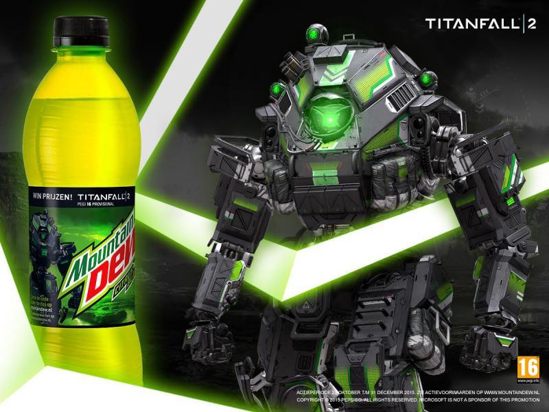 Titanfall 2-prijsvraag (Foto: Mountain Dew)