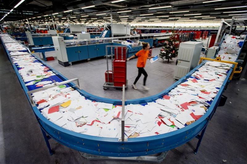 Recorddrukte PostNL in week voor kerst