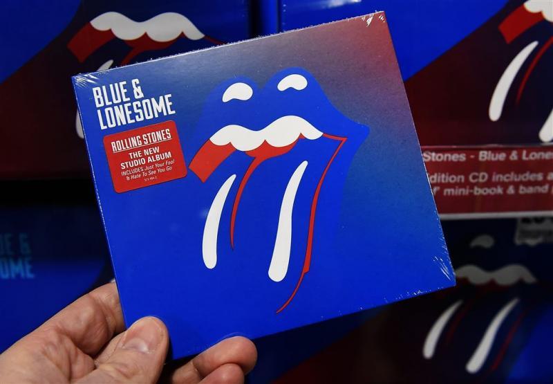 Rolling Stones nog steeds aan top Albumlijst