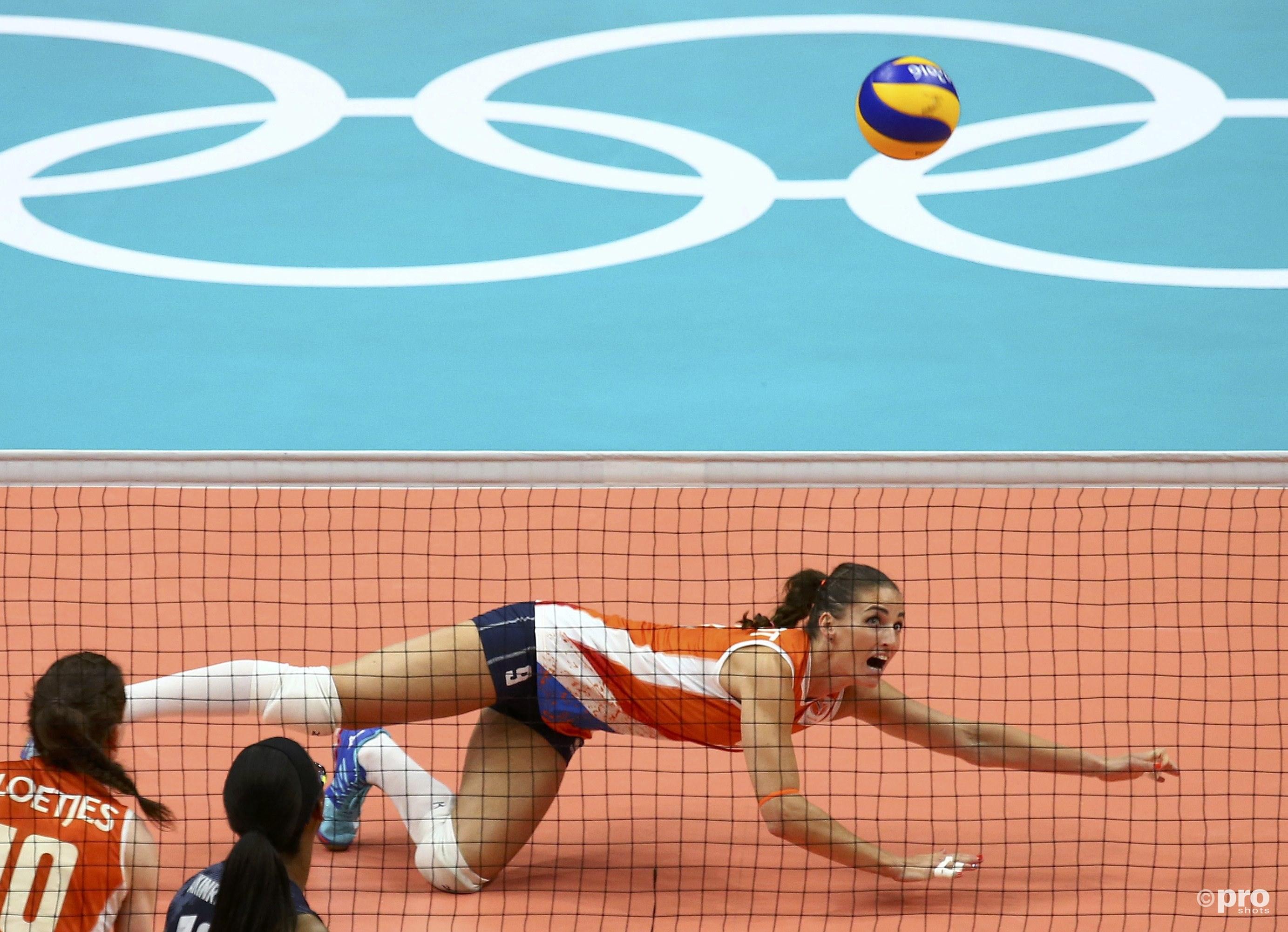 Volleybaldames weten uitstekende Spelen niet te bekronen met medaille (Pro Shots / Action Images)
