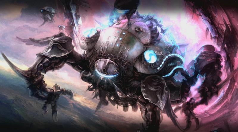 Final Fantasy XIV: Stormblood - Omega artwork (Foto: Square Enix)