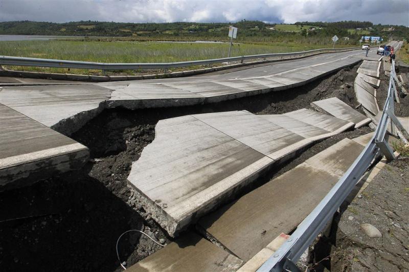 Tsunamiwaarschuwing na aardbeving Chili